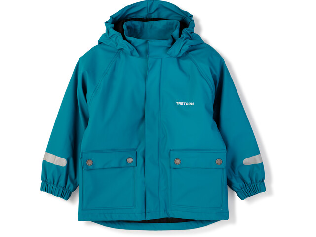 Tretorn Wings Winter Rainjacket Barn Ice Blue